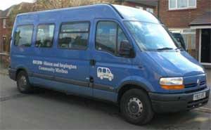 HICOM minibus