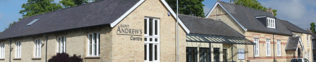 The Saint Andrew's Centre in Histon, Cambridge is a place where we can serve our local community.